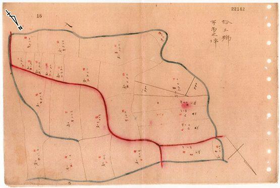 150年前のイオンタウン姶良周辺の地図